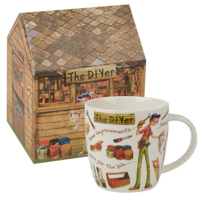 """Cana At Your Leisure """"The Diyer"""" 400ml in cutie cadou, Churchill"""