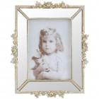 "Rama foto ""Silver Roses"" 13*18 cm, Clayre & Eef"