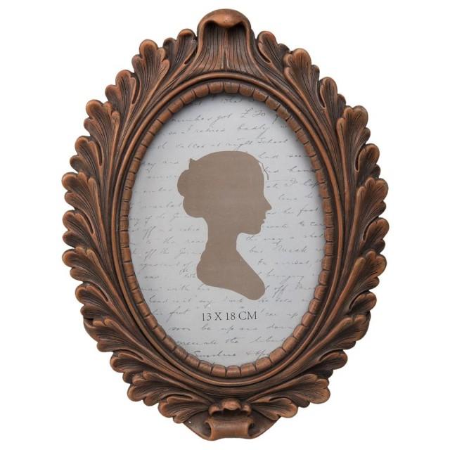 "Rama foto ""Bronze Lady"" 13*18 cm, Clayre & Eef"