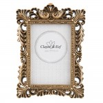 "Rama foto ""Baroque Gold"" auriu antichizat 9*13 cm, Clayre&Eef"