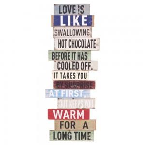 "Tablou motivational ""Love"", Clayre & Eef"