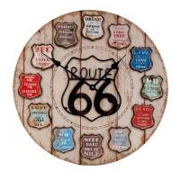 """Ceas """"Route 66"""" Ø 60*5 cm, Clayre & Eef"""