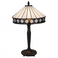 Lampa Tiffany Ø 30x47 cm, 1x E27 / Max 60W, Clayre & Eef