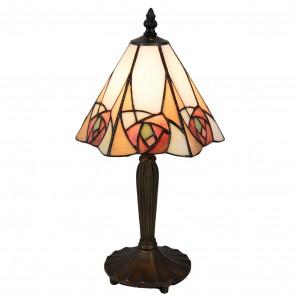 Lampa Tiffany, 20x18x37 cm, 1x E14 / Max 40W, Clayre & Eef