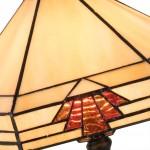 Lampa Tiffany, 31x27x47 cm, 1x E27 / Max 60W, Clayre & Eef