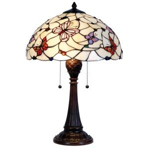 Lampa Tiffany, 41x60 cm, 2 x E27 / Max 60W, Clayre & Eef