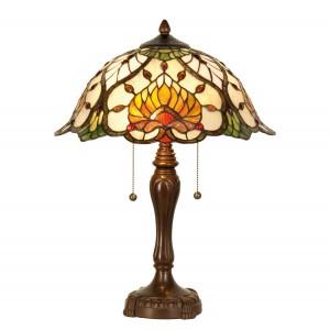 Lampa Tiffany, 40x50 cm, 2 x E27 / Max 60W, Clayre & Eef
