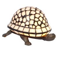 Lampa Tiffany Tortoise, 21x14x12 cm, 1xE14 / Max 25W, Clayre & Eef