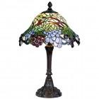 Lampa Tiffany Ø 30x48 cm, 1x E27 / Max 60W, Clayre & Eef
