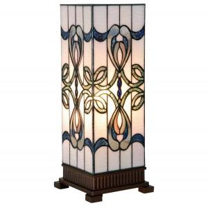 Lampa Tiffany, 18x45 cm, 1 x E27 / Max 40W, Clayre & Eef