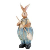 """Decoratiune """"Gardener Bunny"""", Clayre & Eef"""