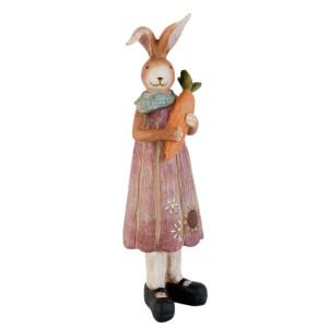 """Decoratiune """"Mrs. Bunny"""", Clayre & Eef"""