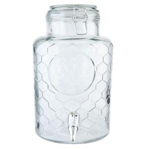 Borcan pentru depozitare cu robinet 5.3 L, Clayre & Eef