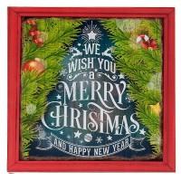 "Tablou ""Christmas Song"", Clayre & Eef"