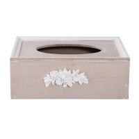 "Cutie pentru servetele ""White Roses"", Clayre & Eef"