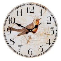 "Ceas ""Little Bird"" Ø 34*4 cm, Clayre & Eef"