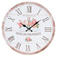 """Ceas """"Rose de Provence"""" Ø 34*3 cm, Clayre & Eef"""