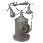 """Ceas """"Vintage Phone"""" 34*18*43 cm, Clayre & Eef"""