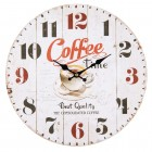 "Ceas ""Coffee Time"" Ø 34*4 cm, Clayre & Eef"