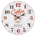 """Ceas """"Coffee Time"""" Ø 34*4 cm, Clayre & Eef"""