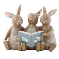 """Decoratiune """"Bunnies"""", Clayre & Eef"""