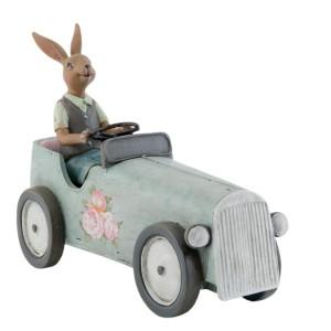 "Decoratiune ""Chauffeur Bunny"", Clayre & Eef"