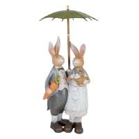 """Decoratiune """"Mr. & Mrs. Bunny"""", Clayre & Eef"""