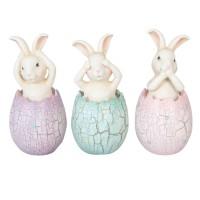 "Decoratiune ""Easter Eggs"", Clayre & Eef"