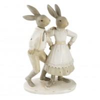 "Decoratiune ""Rabbits"", Clayre & Eef"