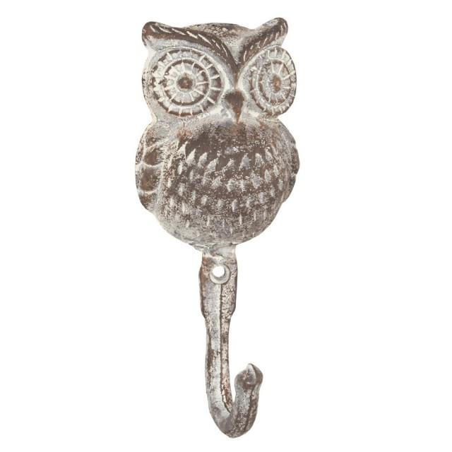 """Cuier maro """"Owl"""", Clayre & Eef"""