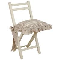 "Fata de perna pentru scaun ""Flower Basket"", Clayre & Eef"
