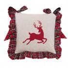 """Fata de perna pentru scaun """"Hello Deer"""", Clayre & Eef"""