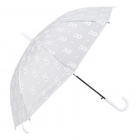 "Umbrela pentru copii ""Bunny"" - White Ø 90*55 cm, Clayre & Eef"