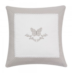 "Fata de perna ""Butterfly"" 40*40 cm, Clayre & Eef"