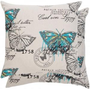 "Fata de perna ""Butterfly"" 45*45 cm, Clayre & Eef"