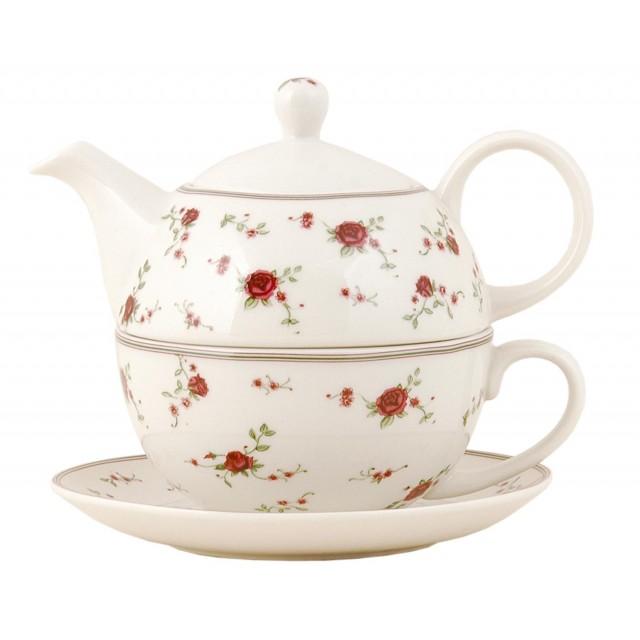 "Tea for One ""La Petite Rose"", Clayre & Eef"