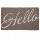 """Covoras de intrare """"Hello"""" 75x45 cm, Clayre & Eef"""