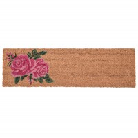 "Covoras de intrare ""Roses"" 75x22 cm, Clayre & Eef"
