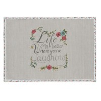 """Suport textil farfurii """"Pretty Little Things"""" 33*48 cm, Clayre & Eef"""