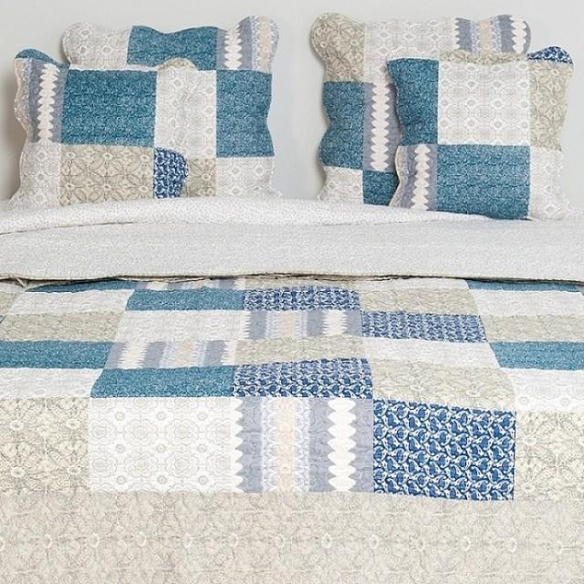 "Cuvertura 180*260 cm ""Blue Passion"", Clayre & Eef"