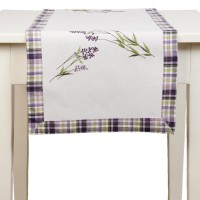 "Napron ""Lavender Love"" 40*120 cm, Clayre & Eef"
