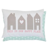 "Fata de perna ""Your Happy Place"" 35*50 cm, Clayre & Eef"