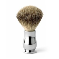 Edwin Jagger Pamatuf pentru barbierit Chatsworth Chrome, Best Badger