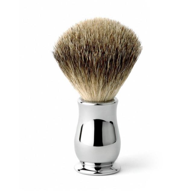 Edwin Jagger Pamatuf pentru barbierit Chatsworth Chrome, Best Badger