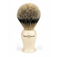 Pamatuf pentru barbierit Plaza Ivory, Best Badger, Edwin Jagger
