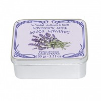 Sapun in cutie Lavande 100g, Le Blanc