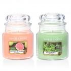 Set 2 Lumanari Parfumate Borcan Mediu, Delicious Guava & Wild Mint, Yankee Candle