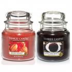 Set 2 Lumanari Parfumate Borcan Mediu, Cappuccino Truffle & Spiced Orange, Yankee Candle