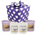 "Set Cadou ""Purple Love"", Yankee Candle"