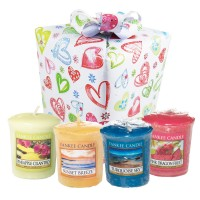 "Set Cadou ""Happy Hearts"", Yankee Candle"